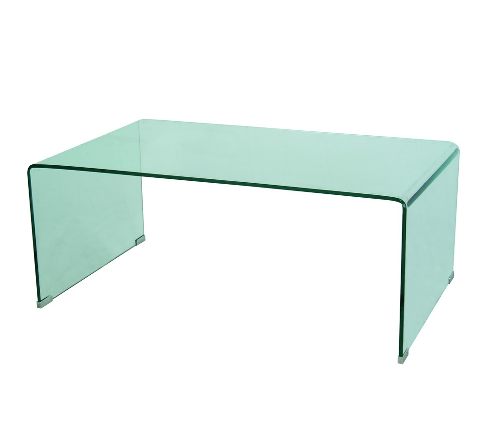 Table Basse Transparente Rectangulaire Liza 100 60 173