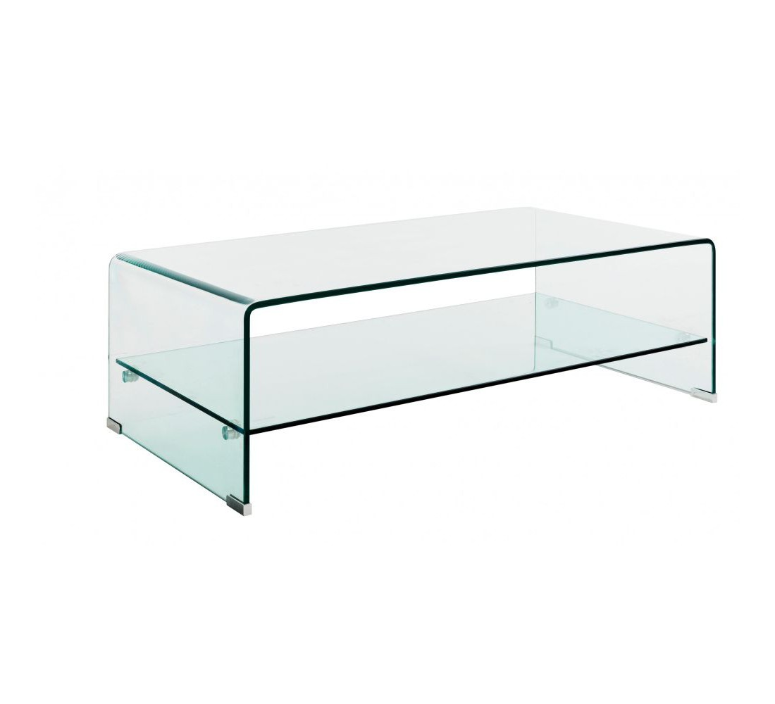 Table basse verre double plateau 5999 for Verre pour table basse