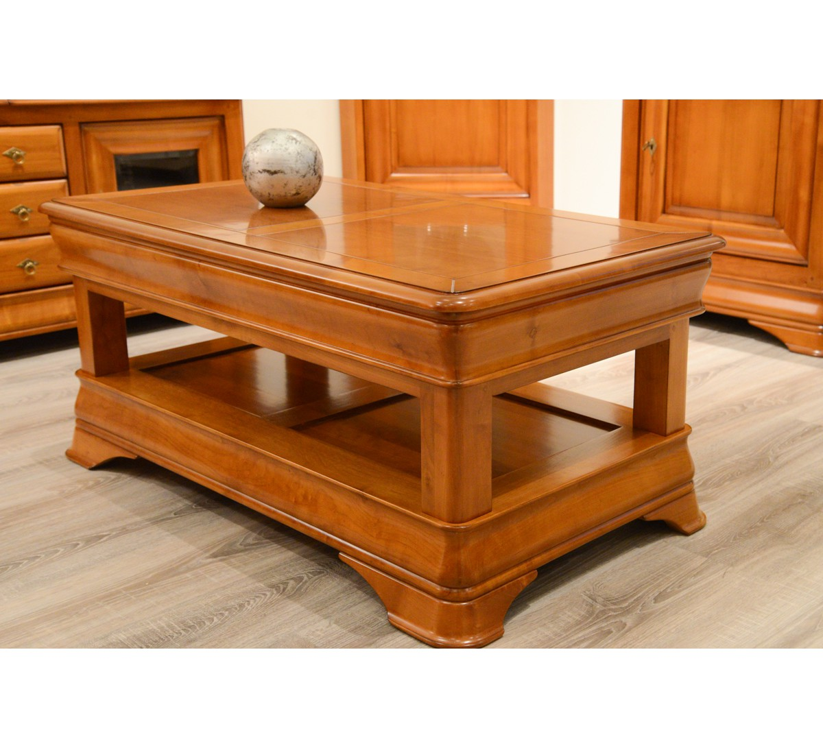 Table basse merisier massif - Table basse merisier ...