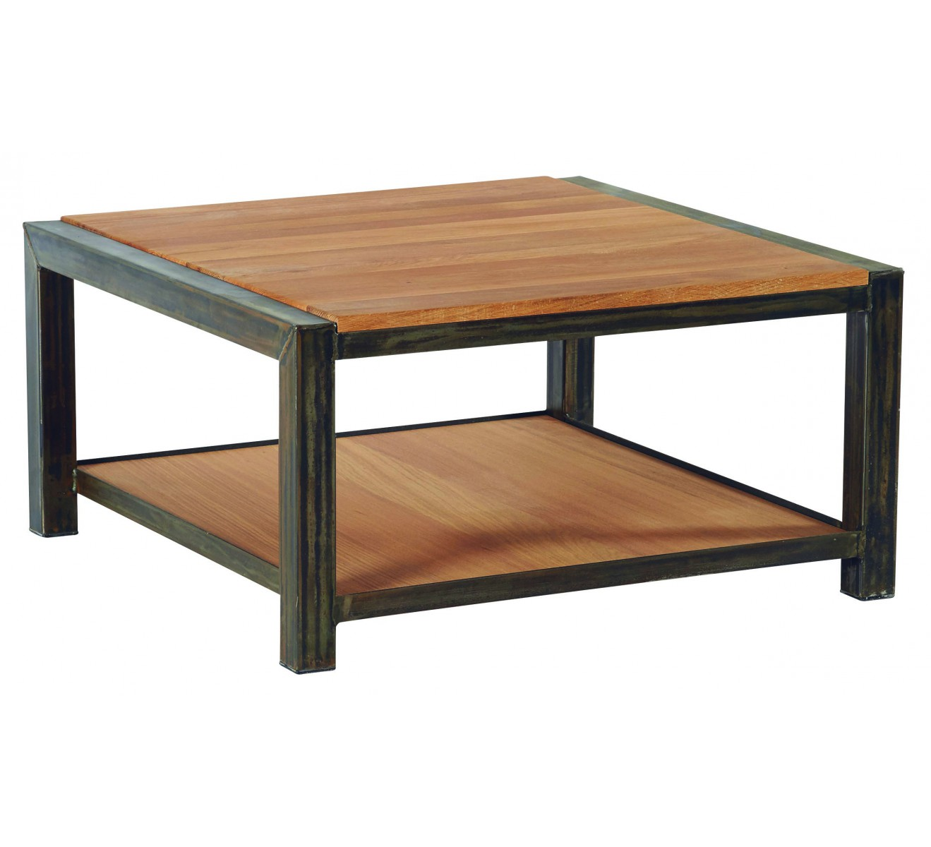 Table Basse Carr M Tal Et Ch Ne Massif Manufacture 6788