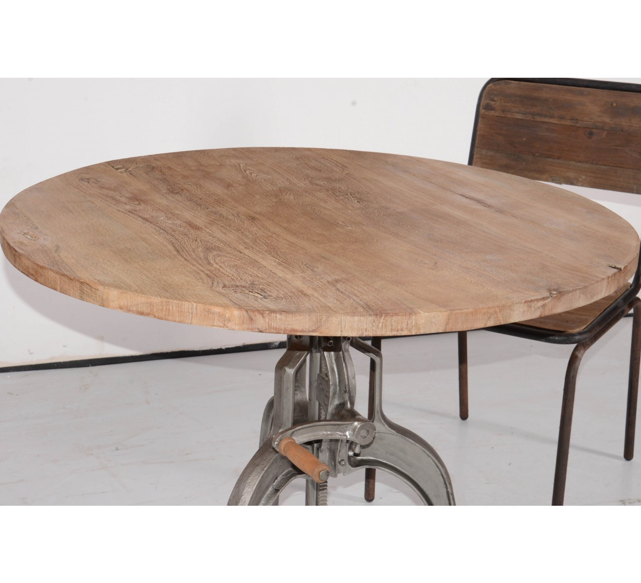 Table Ronde R Haussable Atelier Grey