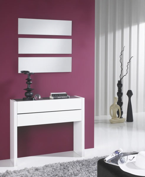 console miroir meuble d 39 entr e allan. Black Bedroom Furniture Sets. Home Design Ideas