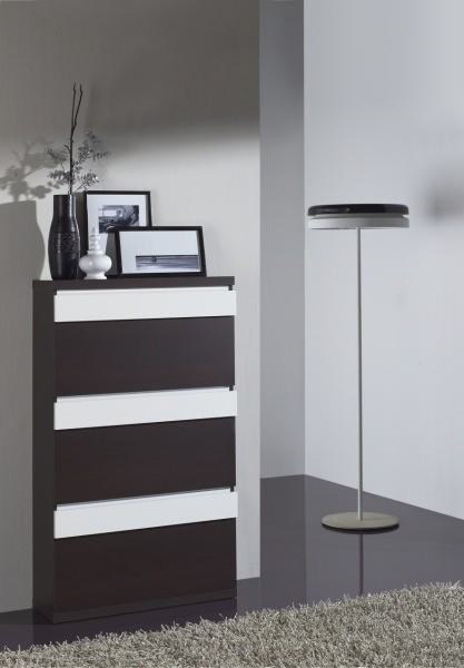 meuble chaussures moderne haut 3 tiroirs shoe. Black Bedroom Furniture Sets. Home Design Ideas