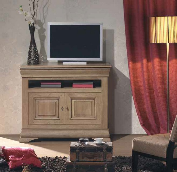 Meuble tv hifi lucinda for M meuble house