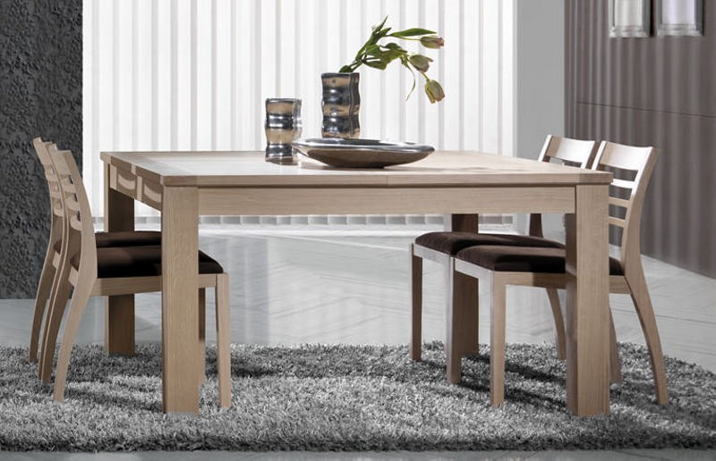 Table carre salle a manger maison design for Table a manger rabattable