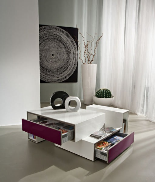 table de salon moderne. Black Bedroom Furniture Sets. Home Design Ideas