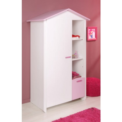 armoire enfant lady. Black Bedroom Furniture Sets. Home Design Ideas