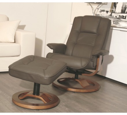 Fauteuil relaxation Taupe
