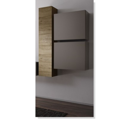 "Meuble cubique taupe ""New Box"""