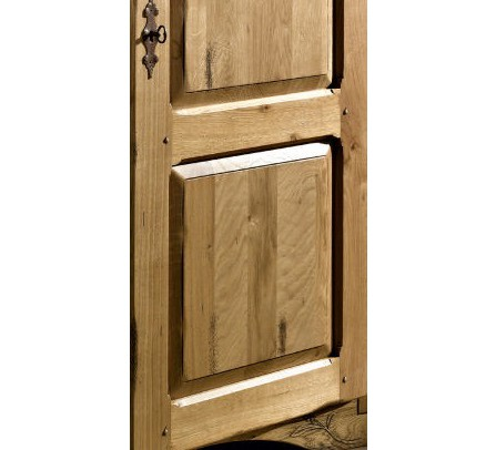 armoire ch ne massif 3 portes auvergnate. Black Bedroom Furniture Sets. Home Design Ideas
