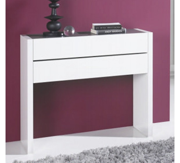 console d 39 entr e blanche allan. Black Bedroom Furniture Sets. Home Design Ideas