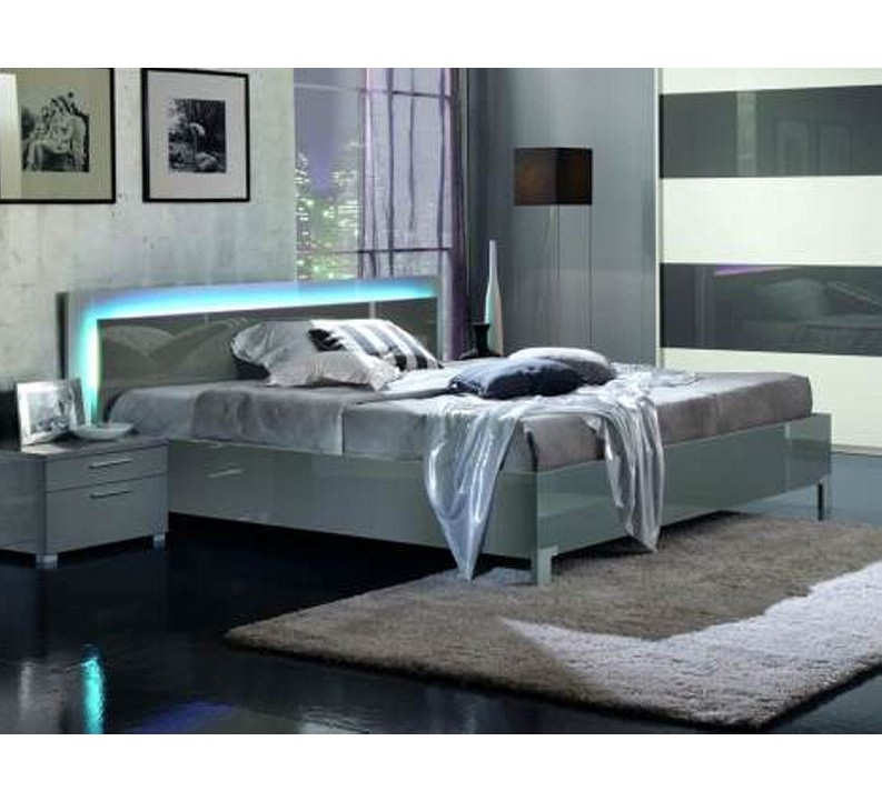 lit moderne sally 3436. Black Bedroom Furniture Sets. Home Design Ideas