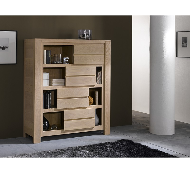 argentier en ch ne massif ethnic 4960. Black Bedroom Furniture Sets. Home Design Ideas
