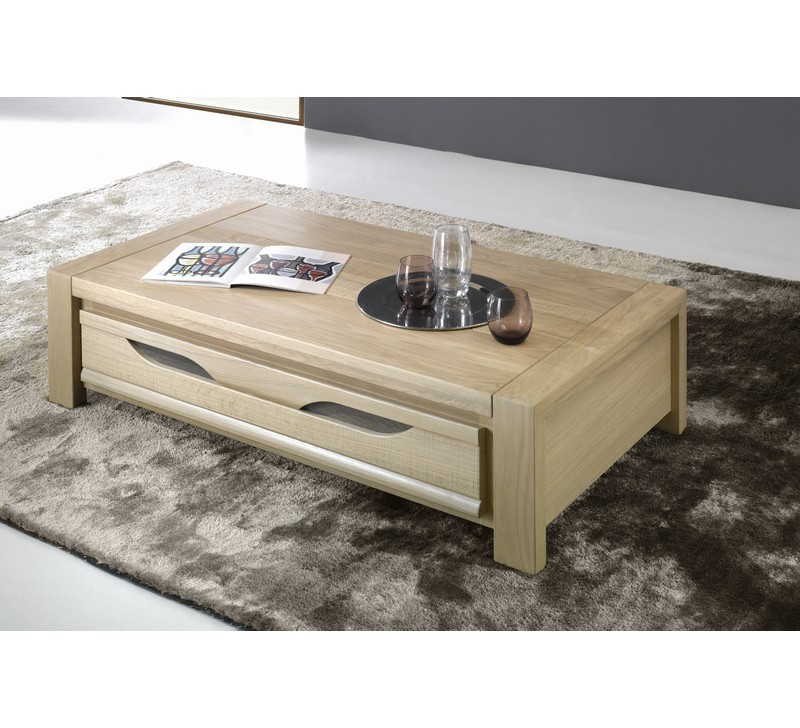 table basse en ch ne massif baltic 4956. Black Bedroom Furniture Sets. Home Design Ideas