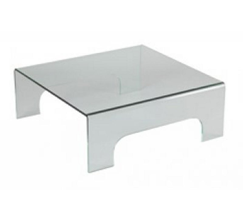 Table basse carr e verre 2972 for Table basse verre carree
