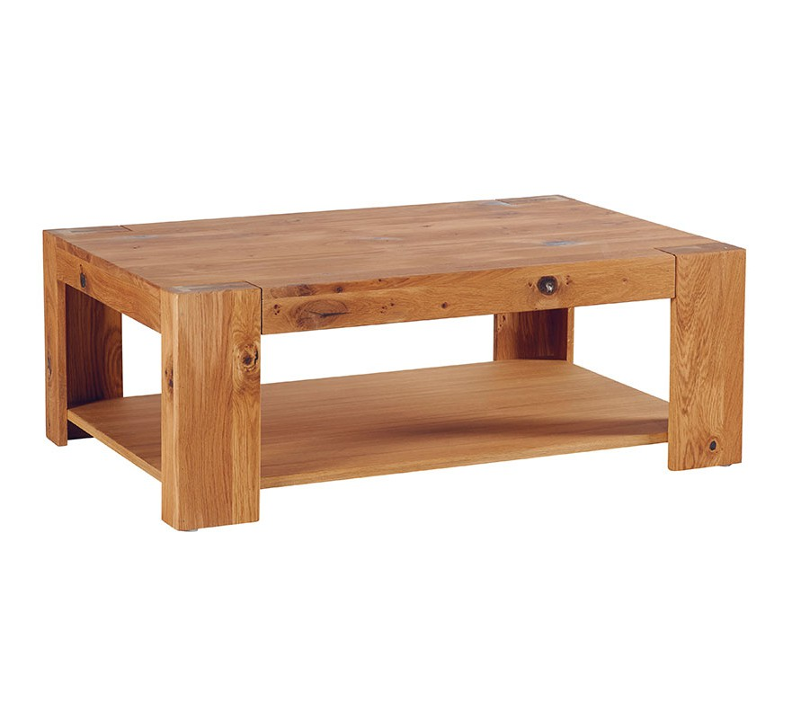 Table basse double plateau 6214 - Table basse plateau montant ...