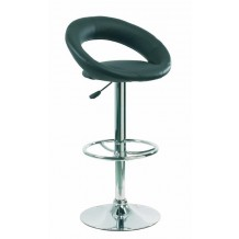 Tabouret de bar noir Louise