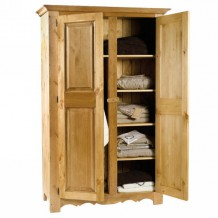"Armoire pin massif ""Brunswick"" Casita"