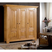 Armoire 100 % chne massif &quot;Aurlie&quot;