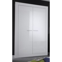 Armoire blanche moderne &quot;Lys&quot;