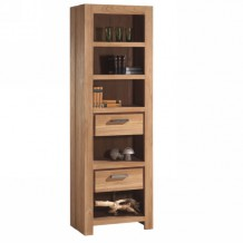 Bibliothque en teck massif bross 65cm &quot;Borno&quot; Casita