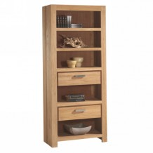 Bibliothque en teck massif bross 85cm &quot;Borno&quot; Casita