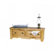 "Commode basse pin massif ""Eco"""