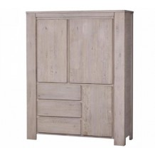 Armoire chne massif &quot;Mlodie&quot;