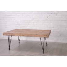 "Table basse pin massif ""Nola"" Casita"