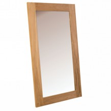 Miroir en teck massif bross &quot;Borno&quot; Casita 150x85cm
