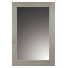Miroir texk massif &quot;Univers gris Zago&quot;