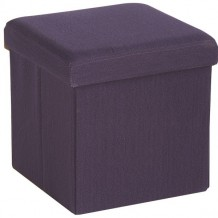 "Pouf coffre violet "" Folding"""