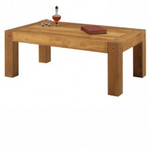 "Table basse chêne massif huilé ""Lodge Casita"""