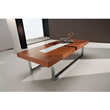 Table basse moderne &quot;Julien&quot; 125cm