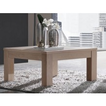 Table basse carre chne massif &quot;Clara&quot;