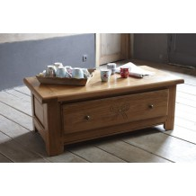 Table basse chne massif &quot;Amlie&quot;
