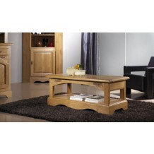 Table basse rectangulaire chne massif &quot;Lorraine&quot;