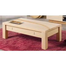 "Table basse rectangulaire ""Liège"""