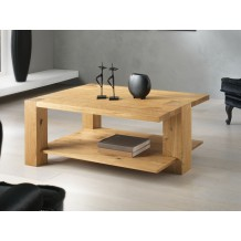 Table basse 3 pieds chne massif &quot;Bibido15&quot;
