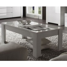 Table basse moderne blanche &quot;Trendy&quot;