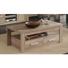 "table basse double plateau ""Milan"""