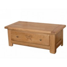 Table basse chne massif 110cm