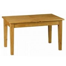 Table de ferme pin massif 120cm