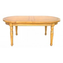 Table ovale 180cm chne massif &quot;Antique&quot;