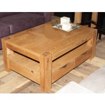 Table basse chne huil &quot;Stomp&quot; Casita