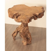 "Table haute teck massif ""Farmer"" Casita"