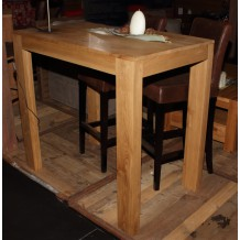 "Table bar frêne massif ciré ""Hartland"" Casita"