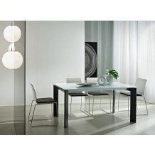 Table de repas moderne &quot;Kylie&quot; 160cm