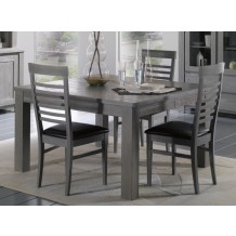 Table de repas carre &quot;Vienne&quot; 130cm