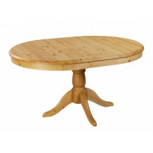 Table ronde pin massif 110cm